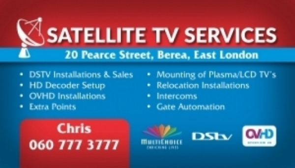DSTV Installations and Repairs in East London